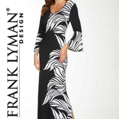 frank lyman ladies designer dress